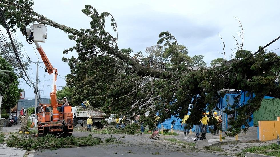 الأضرار التي خلفتها إيتا في أمريكا الوسطى