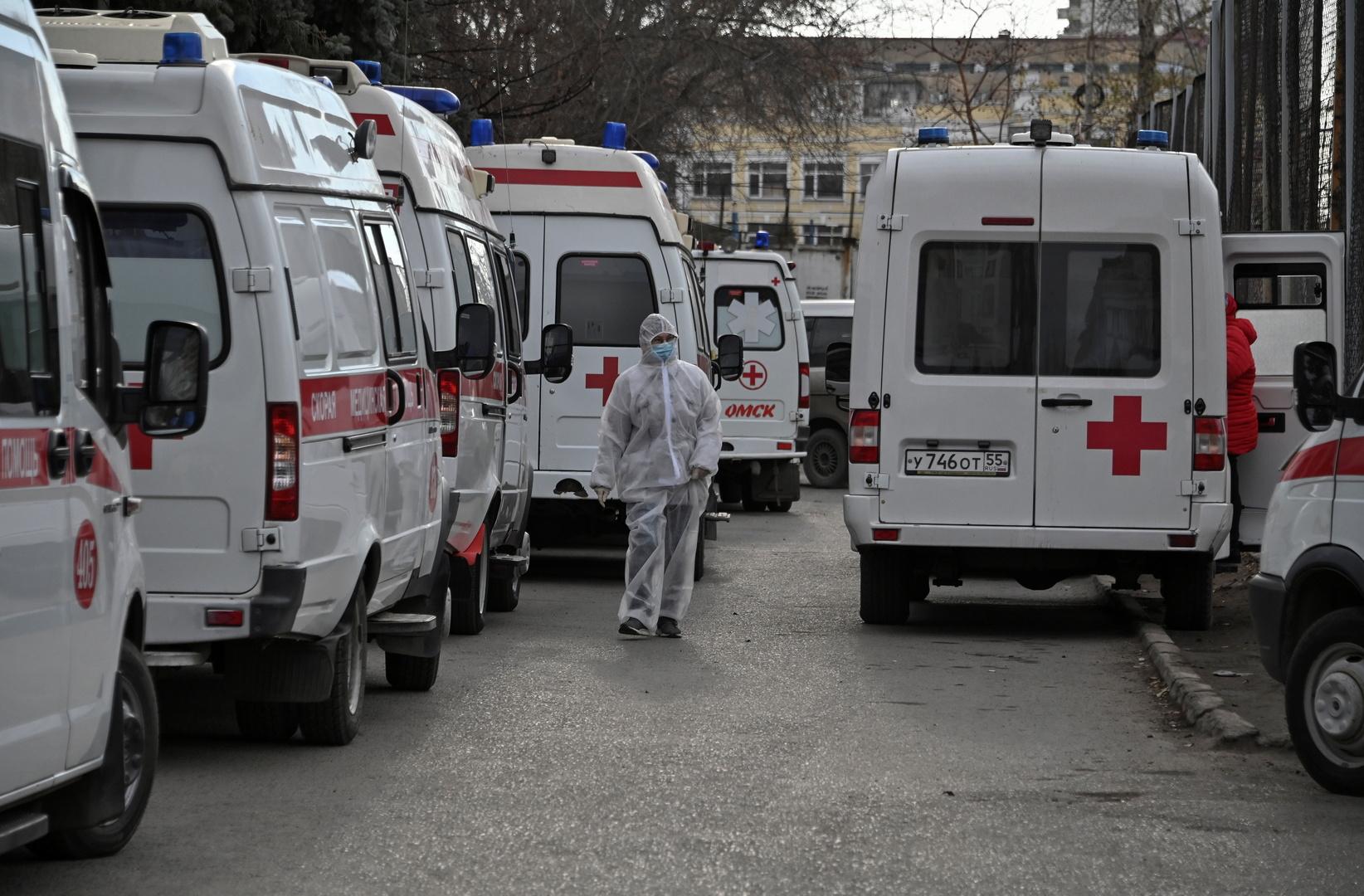 روسيا تسجل لأول مرة أكثر من 20 ألف إصابة بكورونا خلال 24 ساعة