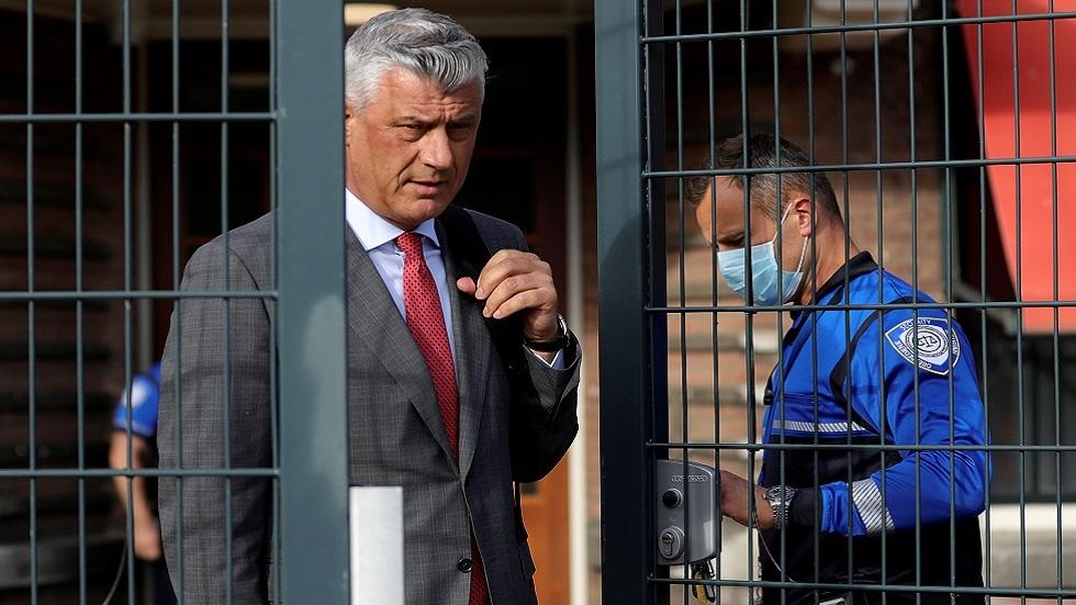 الكشف عن تفاصيل لائحة الاتهام لرئيس كوسوفو المستقيل في لاهاي