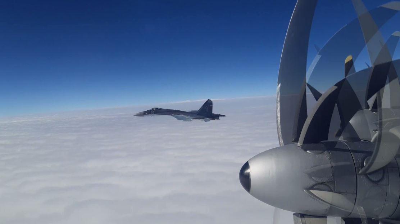 الدفاع الروسية تظهر تحليق تو-95 الاستراتيجيتين فوق بحر اليابان