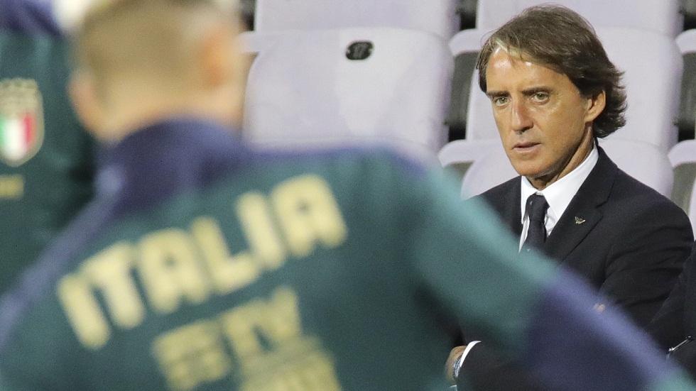إصابة مانشيني مدرب المنتخب الإيطالي بفيروس كورونا