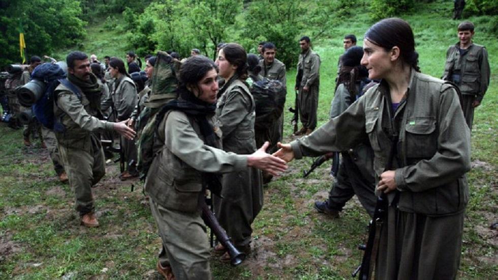 مقاتلون من حزب العمال الكردستاني في العراق - أرشيف