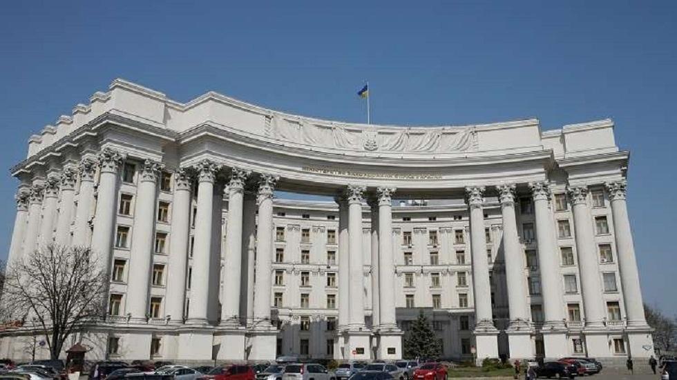 مبنى وزارة الخارجية الأوكرانية في كييف - أرشيف