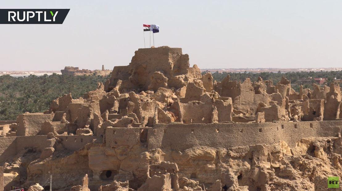 مصر.. أهالي واحة سيوة يحتفلون بترميم قلعة قديمة