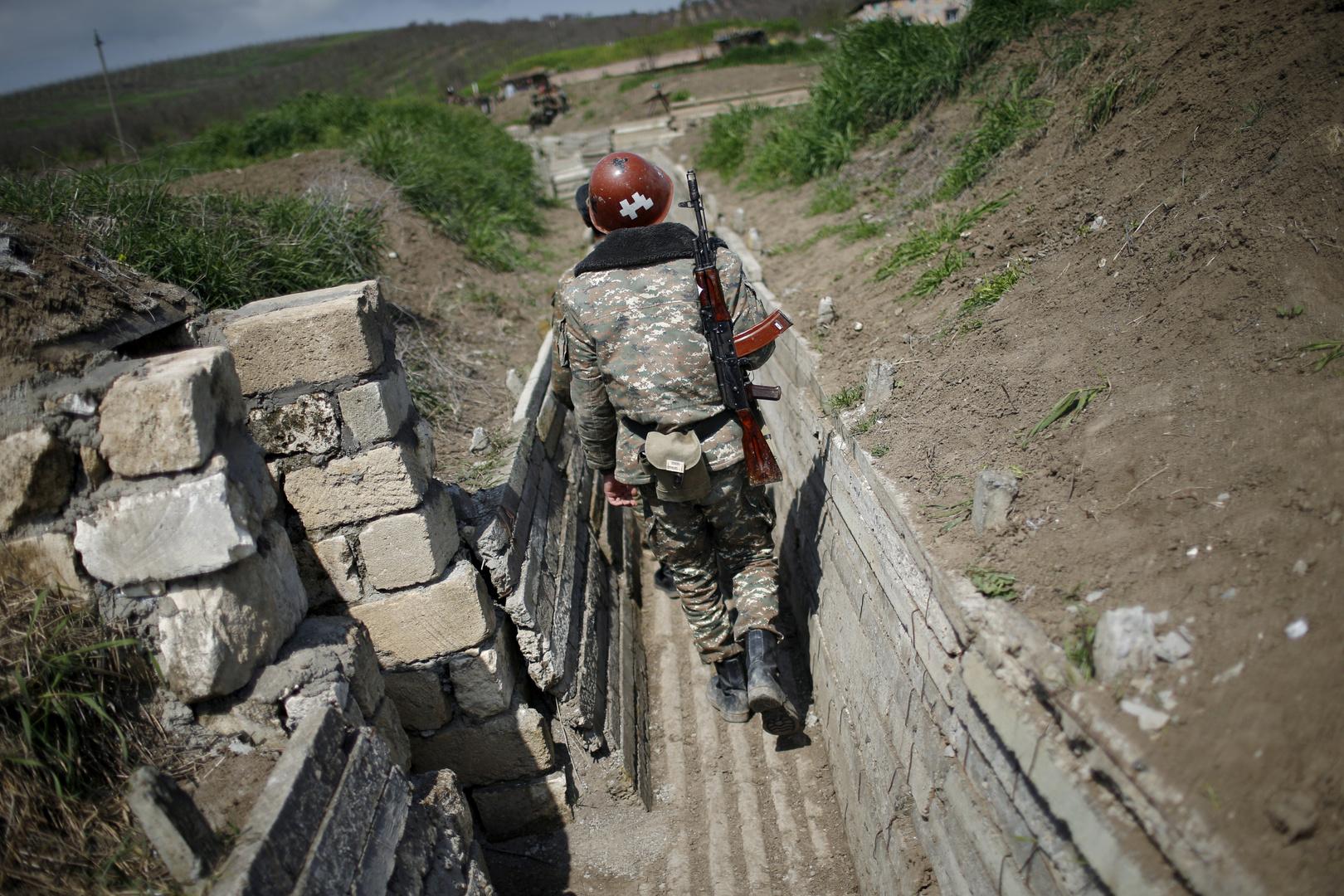 جندي أرمني في قره باغ