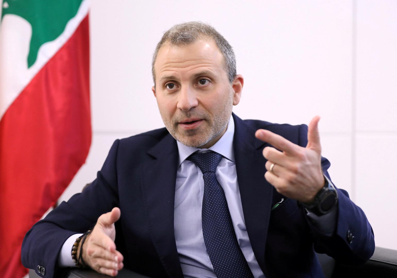 رئيس التيار الوطني الحر اللبناني جبران باسيل