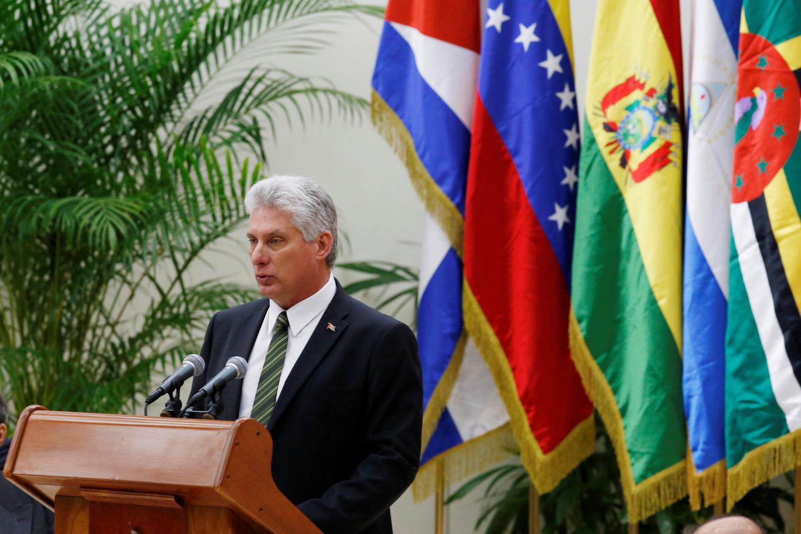 رئيس كوبا: الشعب الأمريكي اختار نهجا جديدا