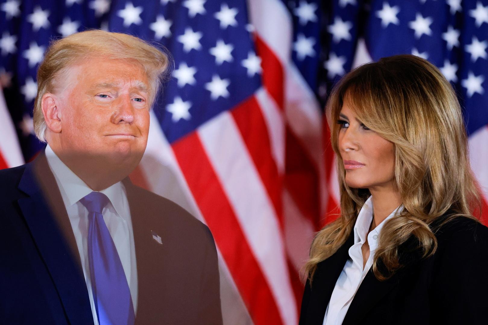 ميلانيا ترامب تطالب بفرز الأصوات في أول تعليق لها على الانتخابات