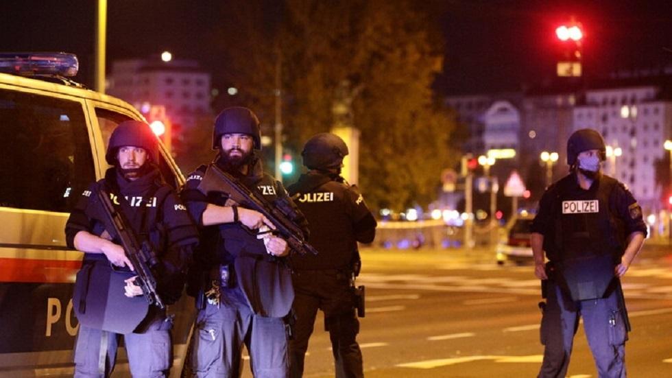 عناصر من الشرطة النمساوية - أرشيف