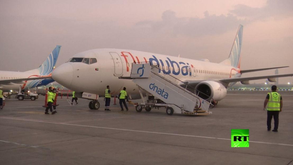 أول طائرة تقل سياحا إسرائيليين تهبط في دبي
