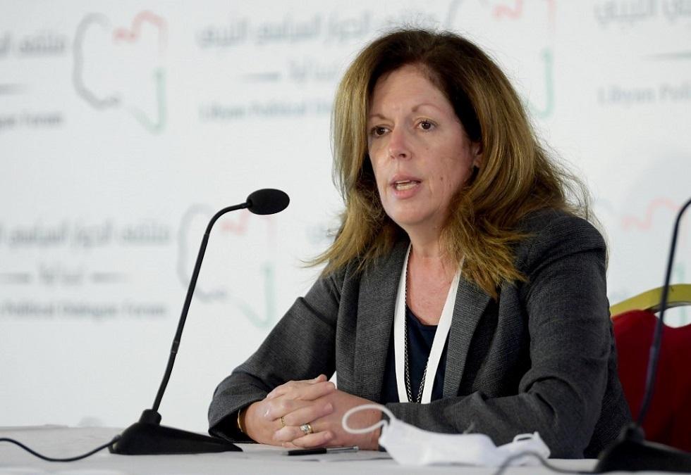 المبعوثة الأممية إلى ليبيا بالإنابة ستيفاني وليامز