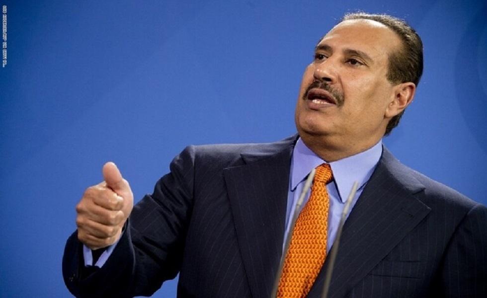 رئيس الوزراء القطري الأسبق حمد بن جاسم آل ثاني