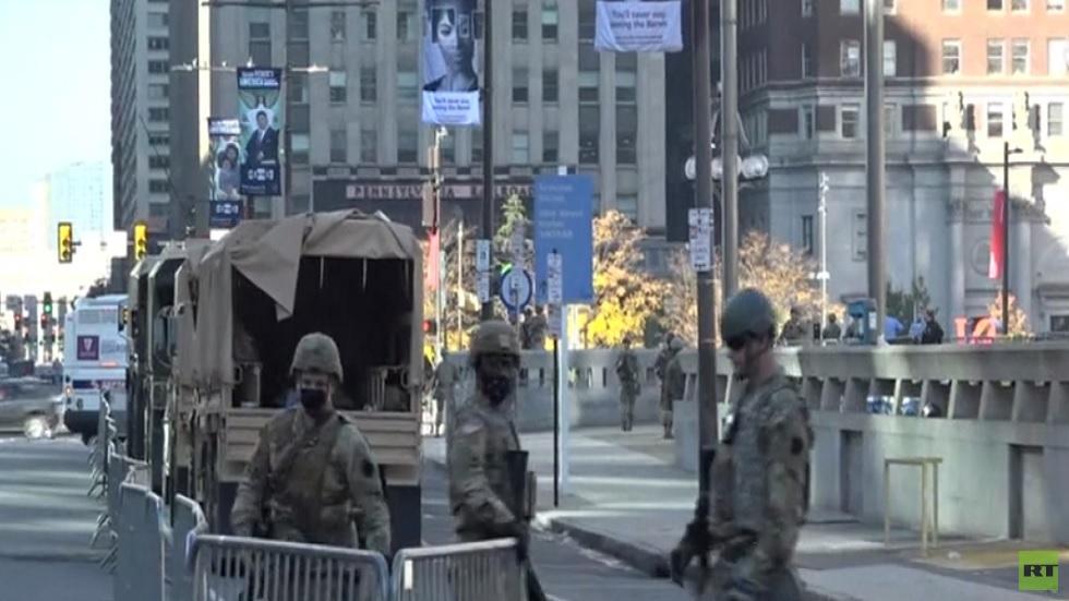 تواصل الإجراءات الأمنية في بنسلفانيا