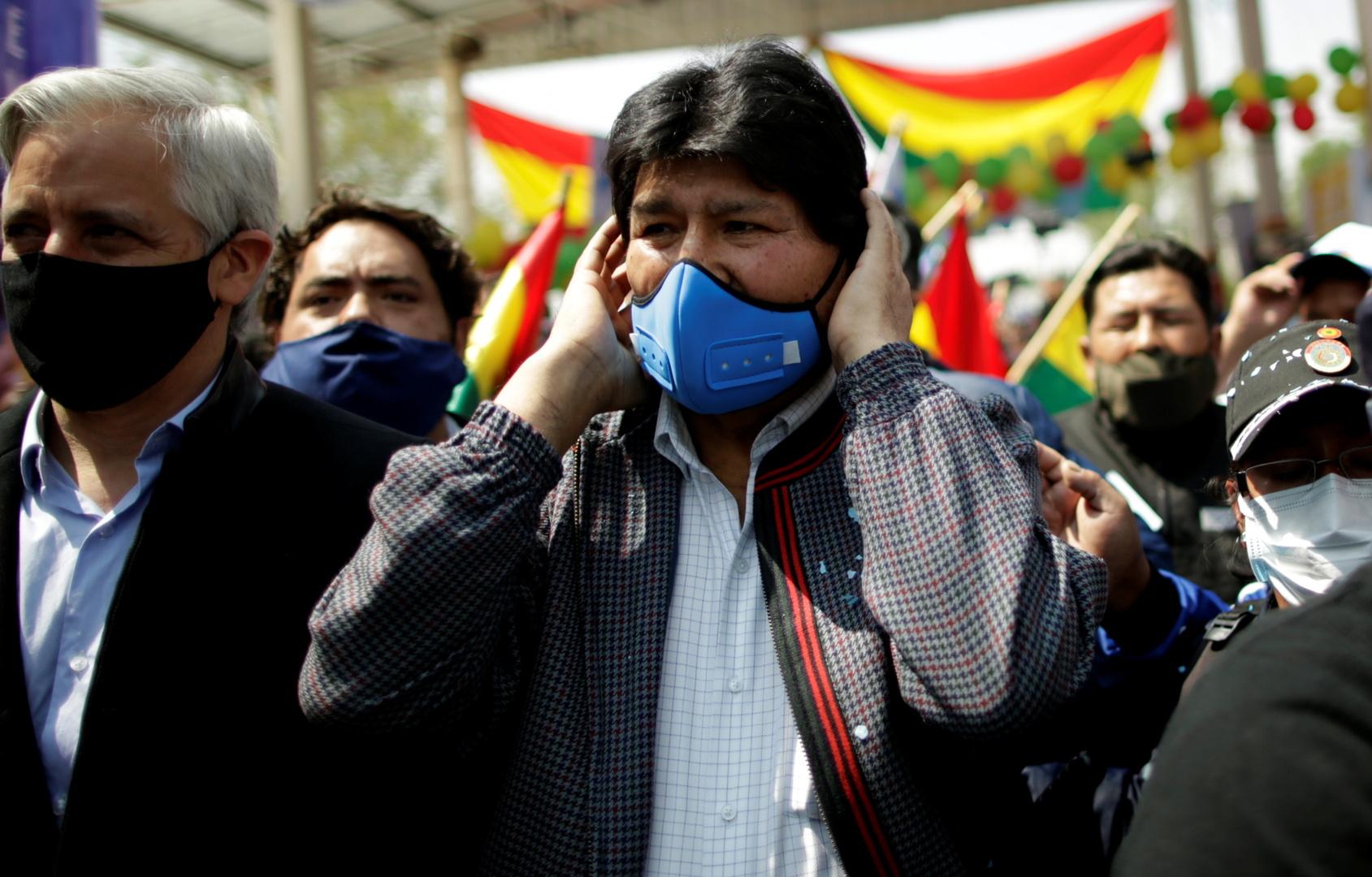بوليفيا.. استقبال حاشد للزعيم البوليفي إيفو موراليس على حدود الأرجنتين