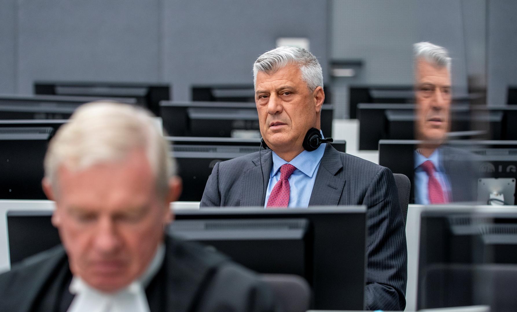 رئيس كوسوفو السابق هاشم ثاتشي
