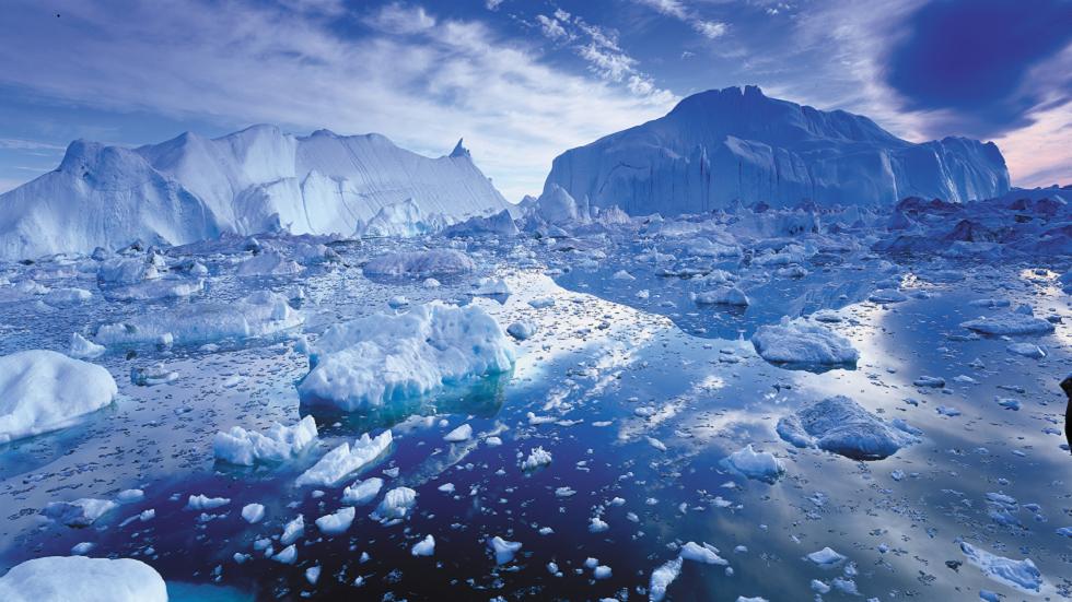 بحيرة قديمة تحت غرينلاند تكشف عن أسرارا مثيرة حول تاريخها!