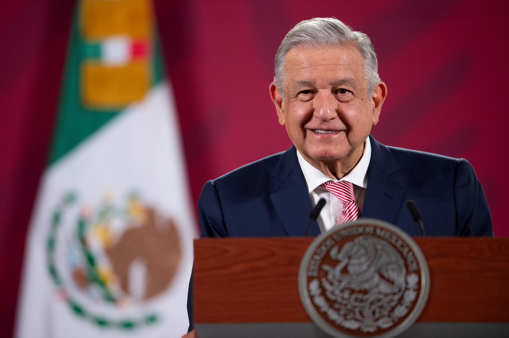 الرئيس المكسيكي حول تهنئته لبايدن: أفضل شيء هو