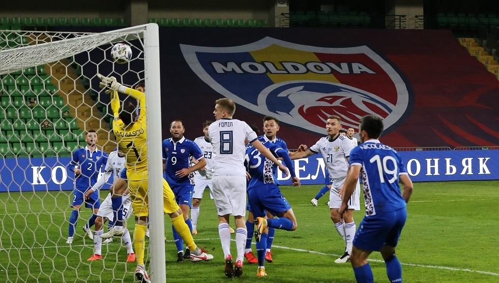 روسيا تعود من مولدوفا بتعادل سلبي (فيديو)