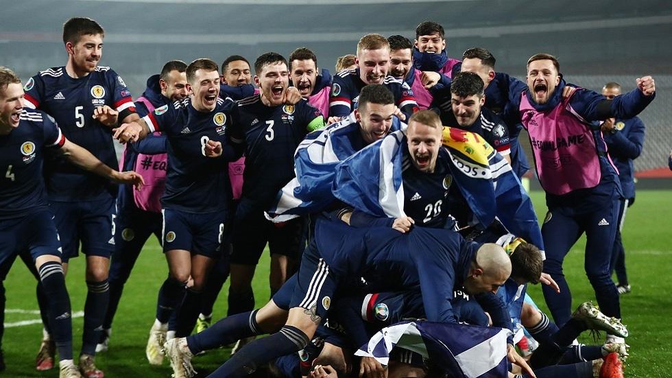 إسكتلندا تكمل عقد المتأهلين إلى نهائيات