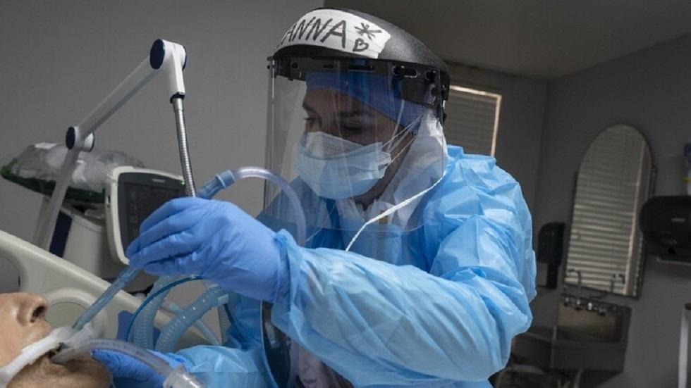 ولاية أمريكية ثانية تسجل أكثر من مليون حالة إصابة بفيروس كورونا
