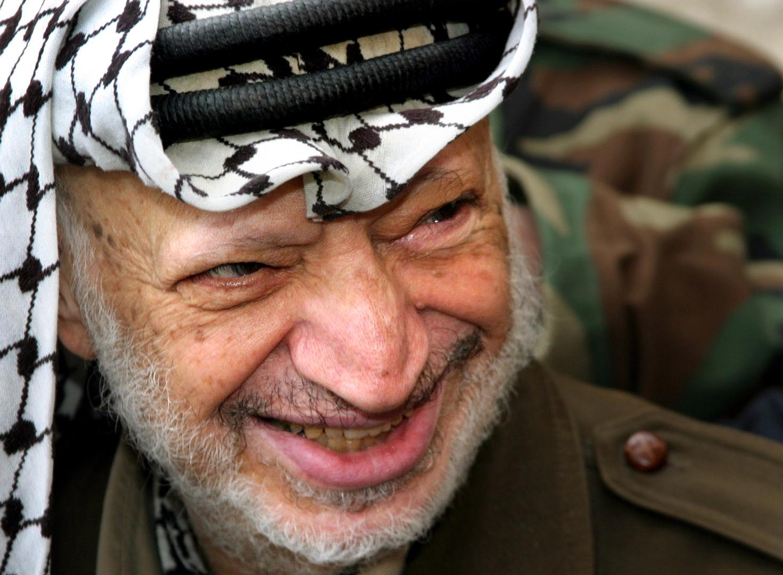 الرئيس الفلسطيني ياسر عرفات