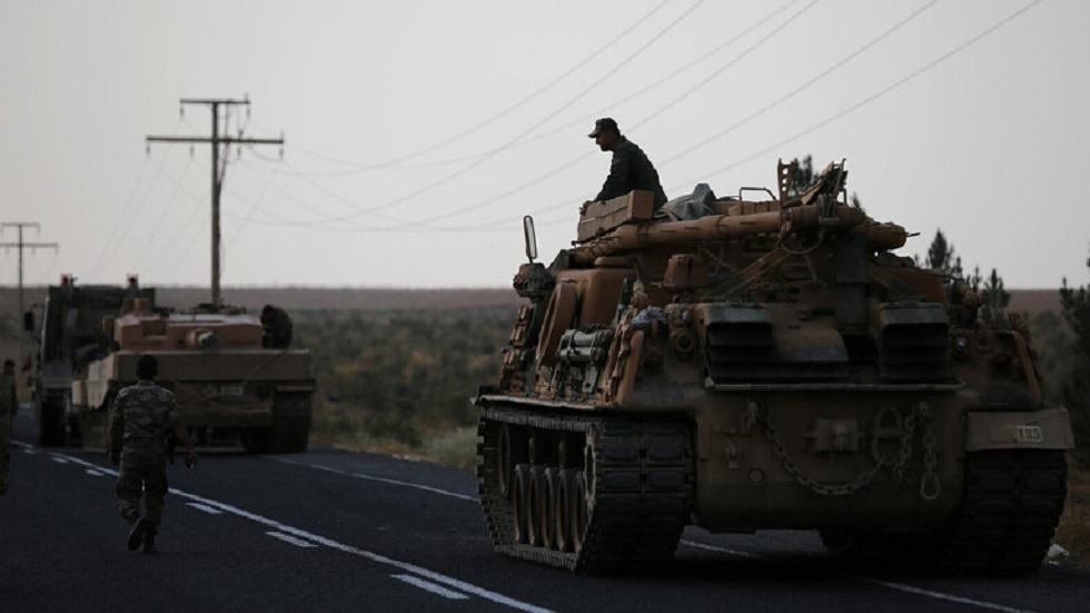 جنود أتراك على الحدود مع سوريا - أرشيف