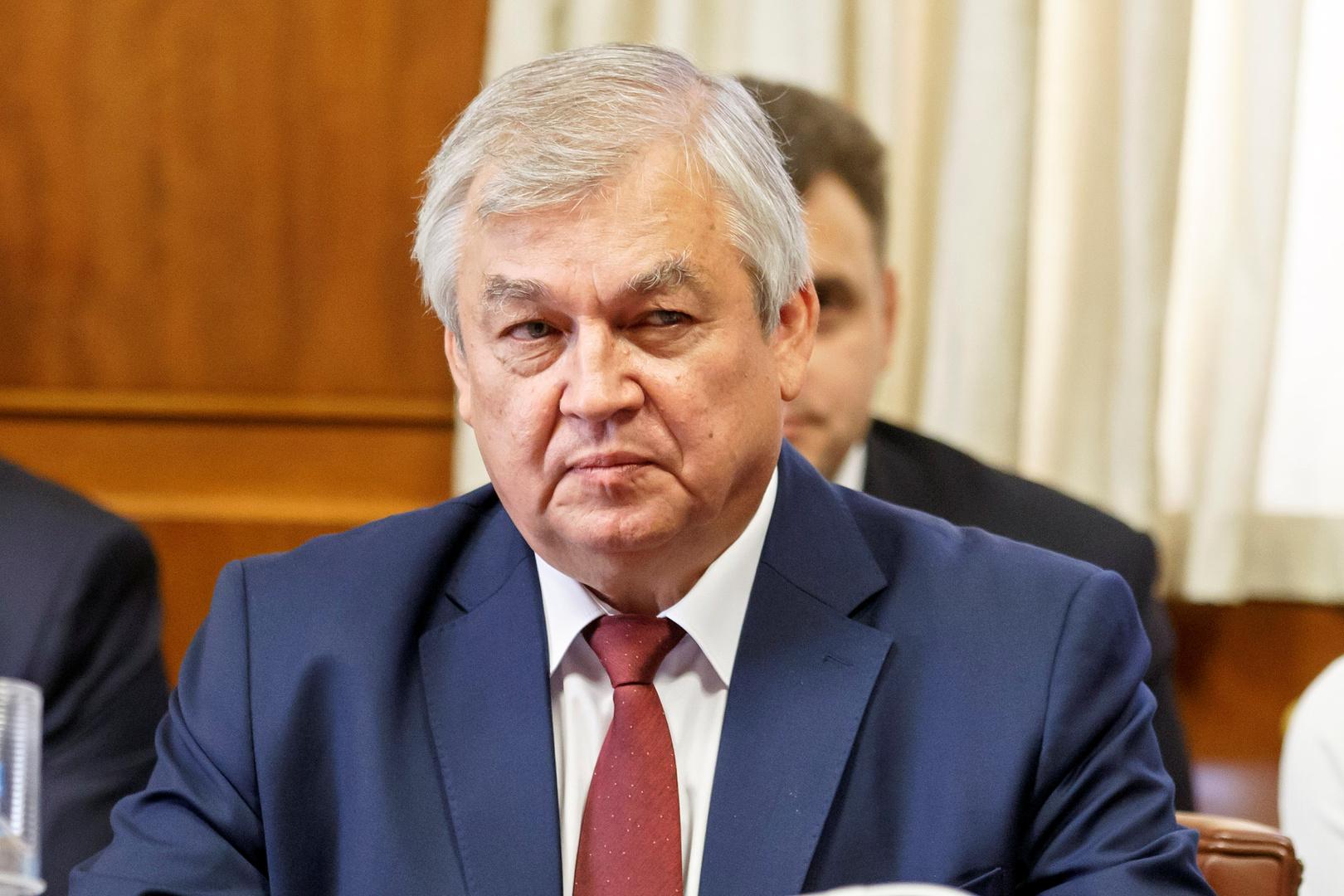 المبعوث الخاص للرئيس الروسي لسوريا ألكسندر لافرنتييف