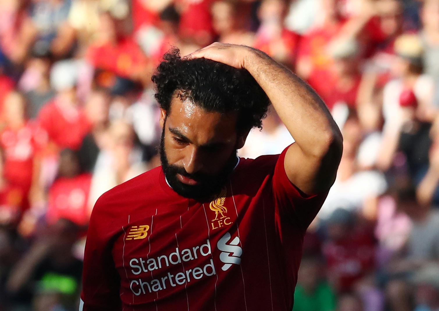 الاتحاد المصري لكرة القدم يعلن إصابة صلاح مهاجم ليفربول بفيروس كورونا قبل مواجهة توجو