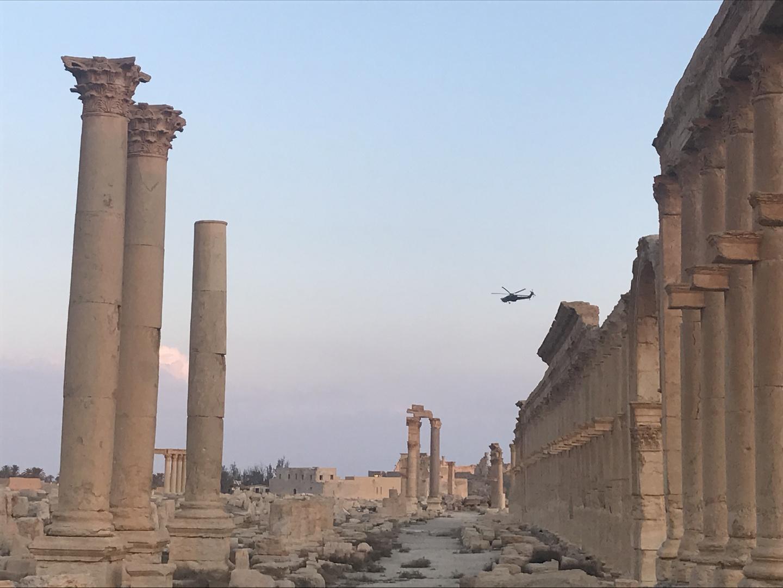 روسيا وسوريا تتفقان على إجراء إحصاء لما تم المحافظة عليه من آثار تدمر