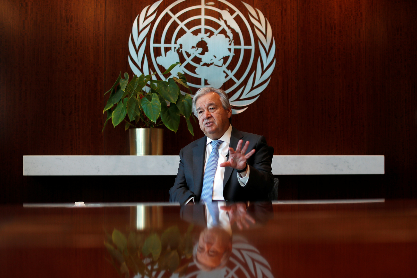 الأمين العام للأمم المتحدة أنطونيو غوتييريش