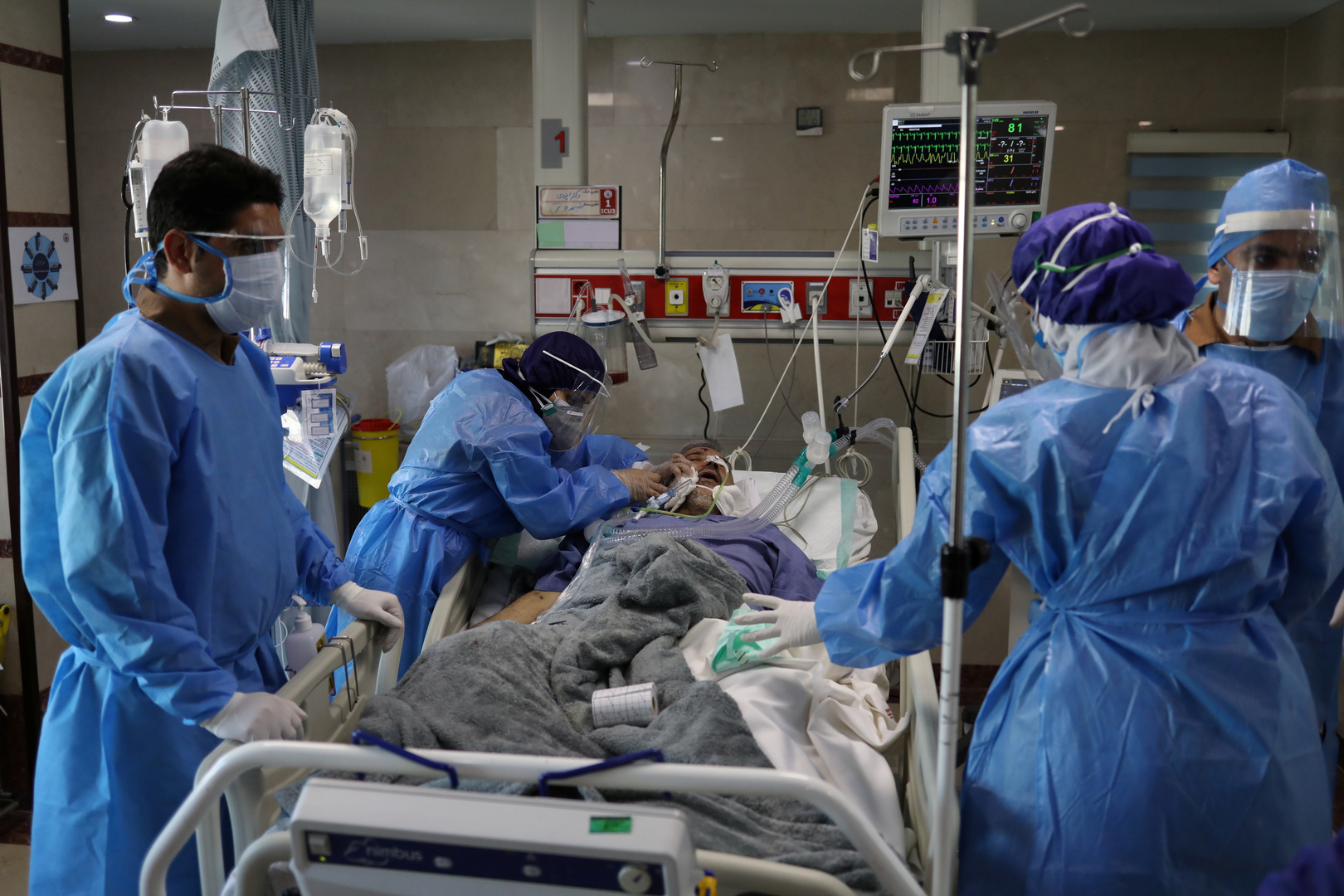 إيران.. 452 وفاة وأكثر من 11 ألف إصابة بفيروس كورونا خلال اليوم الماضي