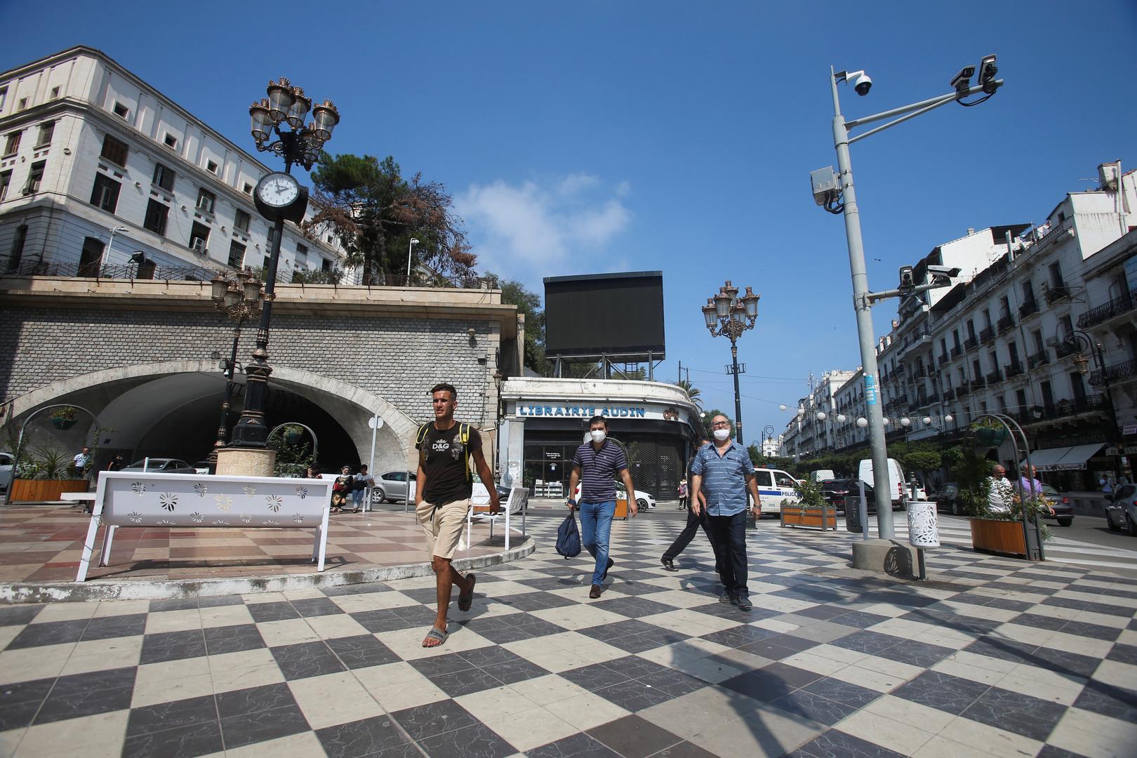 ساحة موريس أودان في مدينة الجزائر العاصمة