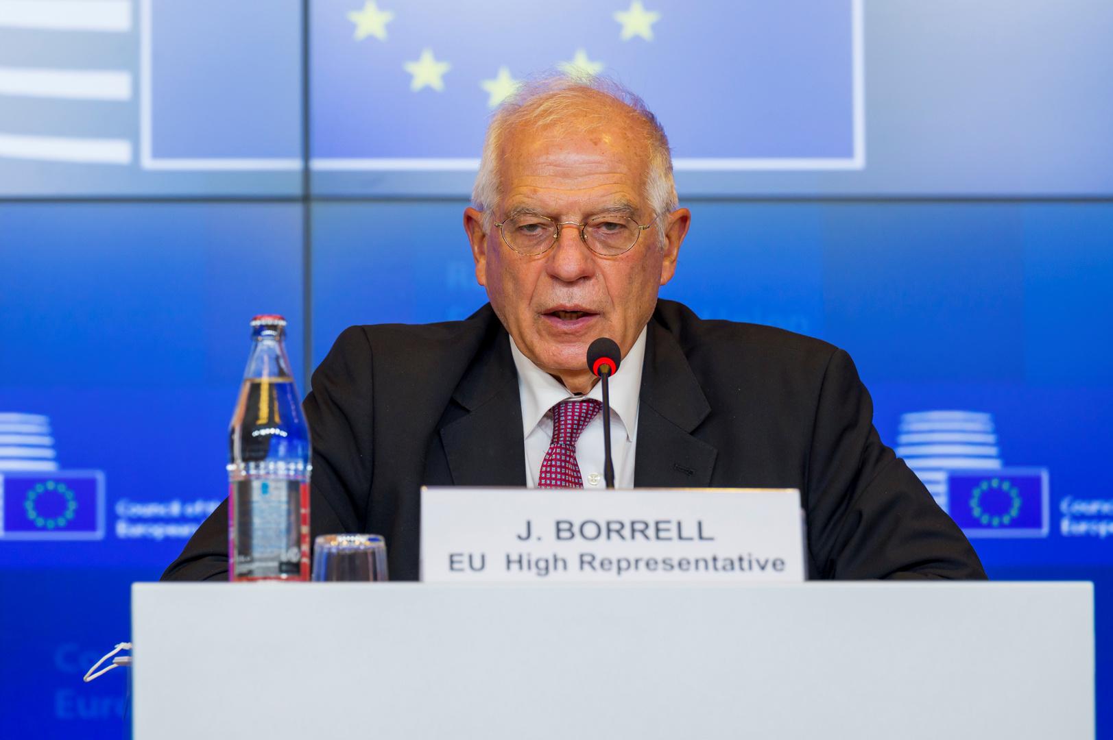جوزيب بوريل، الممثل السامي للاتحاد الأوروبي للشؤون الخارجية والسياسة الأمنية