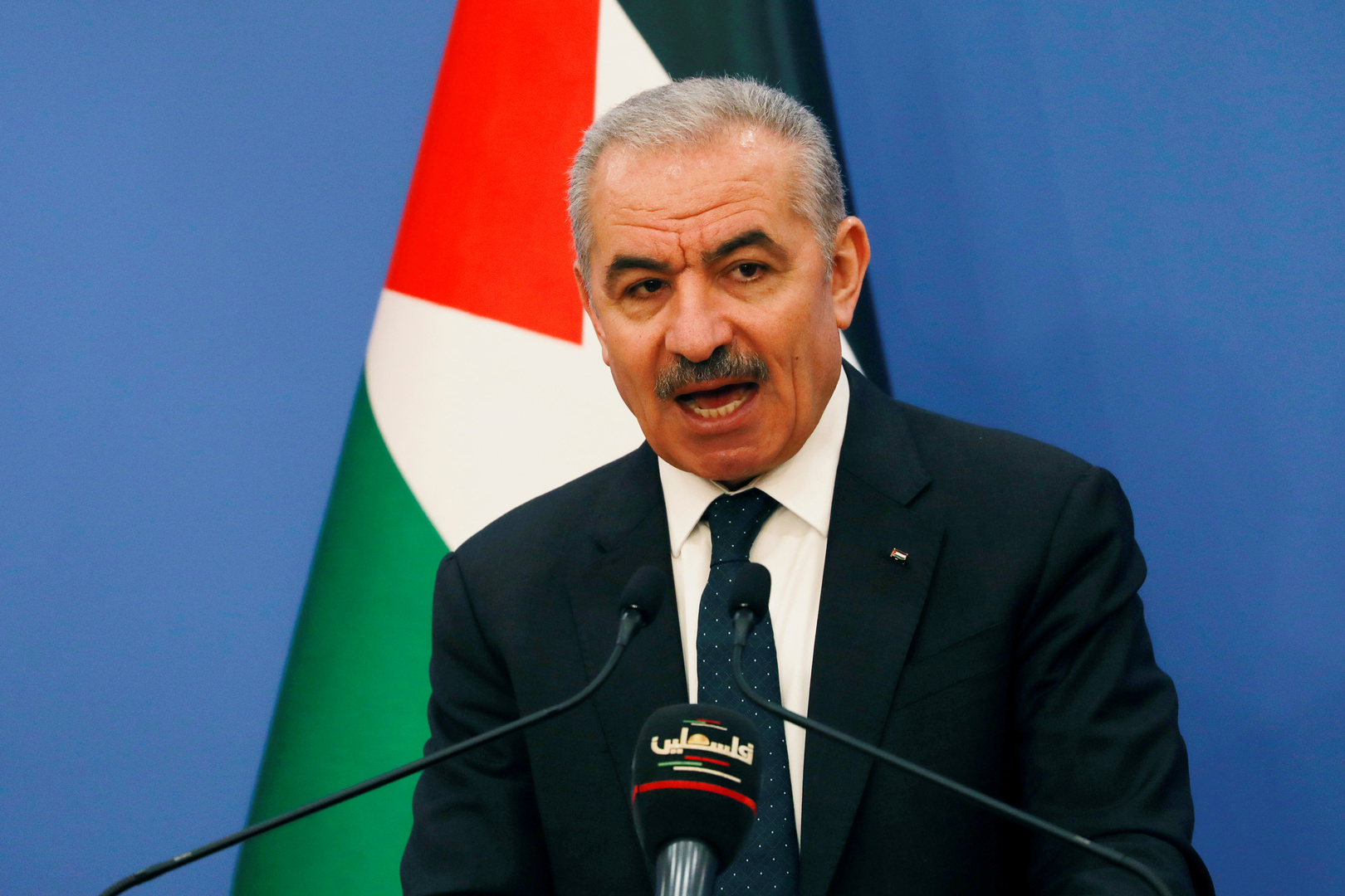 Palestinian Prime Minister warns of the project