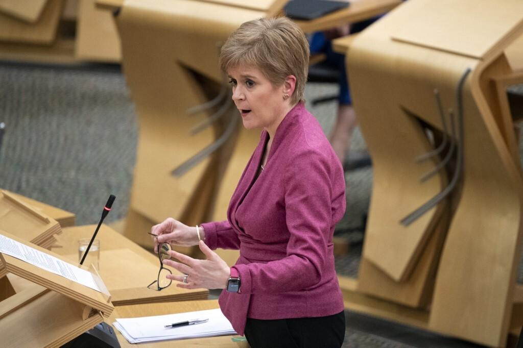 رئيسة وزراء إسكتلندا نيكولا ستورجون