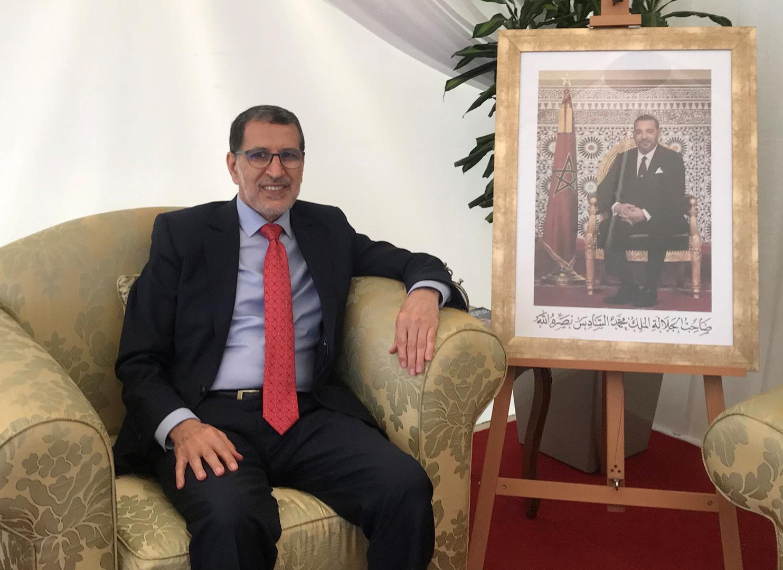 رئيس الوزراء المغربي، سعد الدين العثماني.