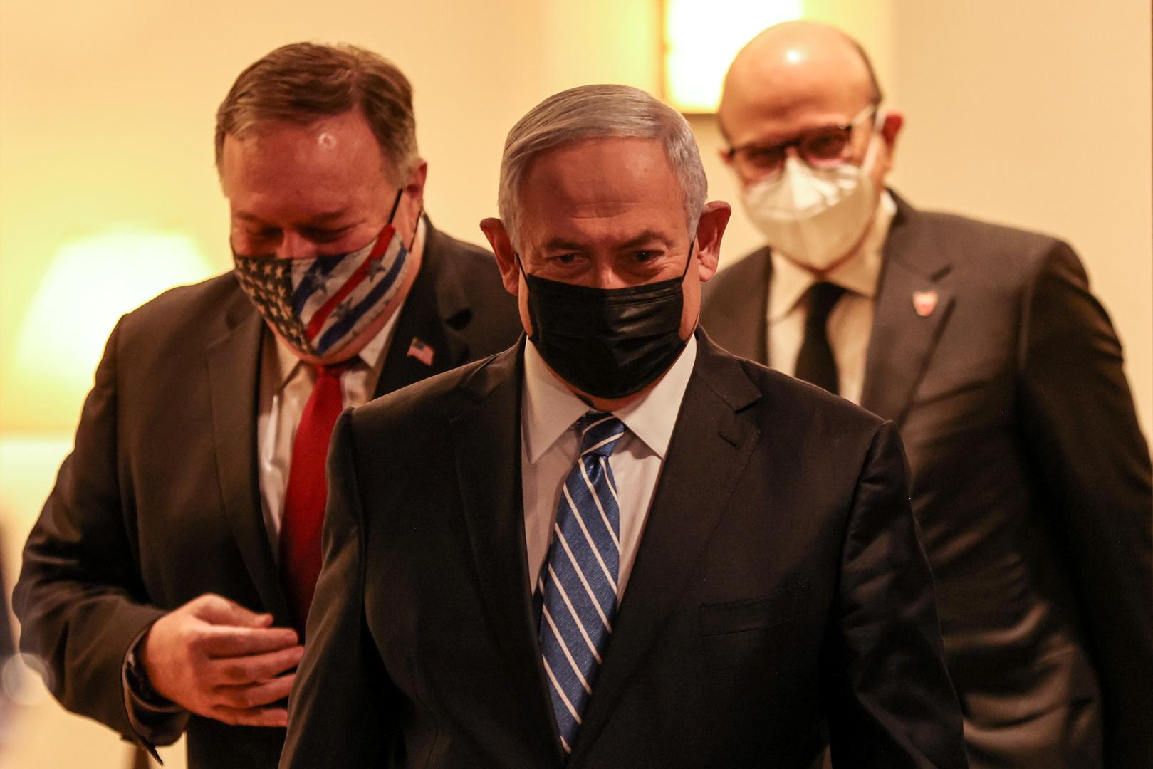 خلال استقبال وزير خارجية البحرين.. نكتة من نتنياهو بشأن
