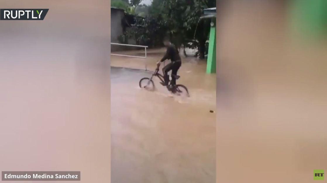 فيضانات في نيكاراغوا بعد إعصار جديد ضرب البلاد