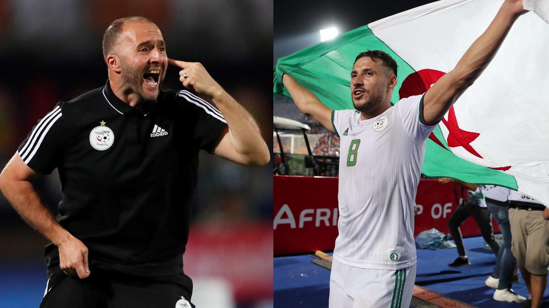 بلماضي يحسم مصير بلايلي مع المنتخب الجزائري