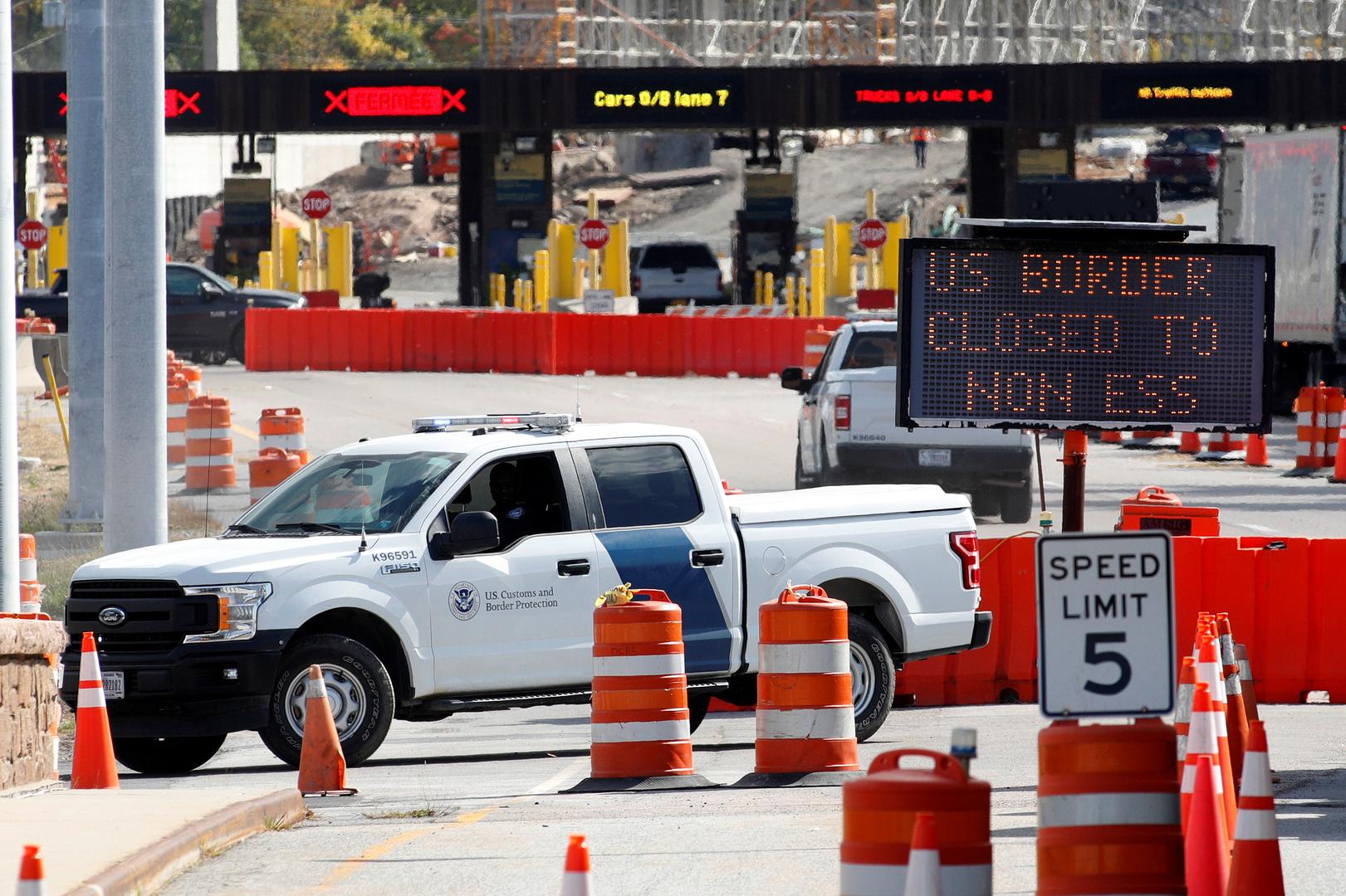 حرس الحدود الأمريكي يعتقل أمريكيين
