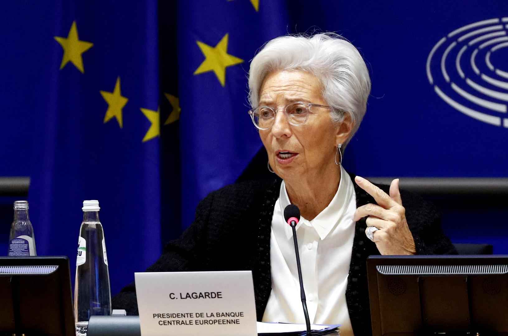 كريستين لاغارد رئيسة البنك المركزي الأوروبي