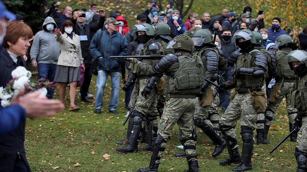 تقرير أممي يحذر من عنف الشرطة ضد المتظاهرين في بيلاروس