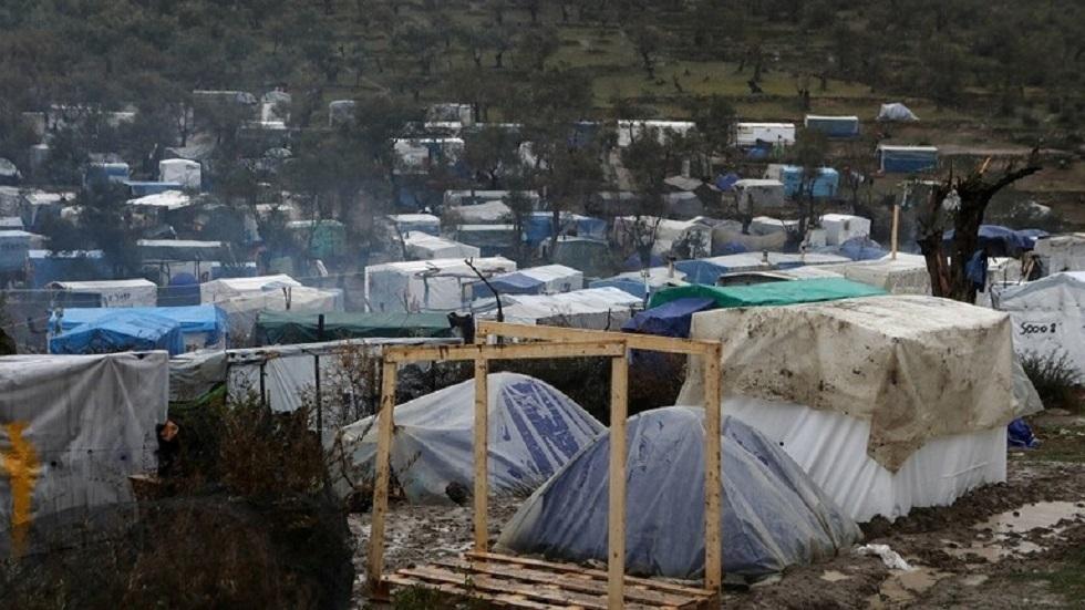 مخيمات اللجوء في اليونان - أرشيف