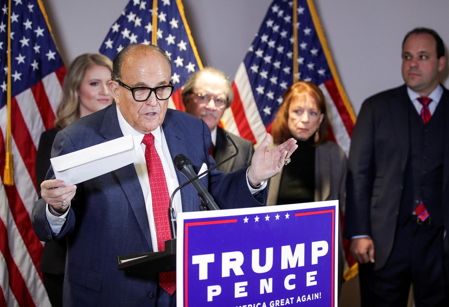 محامي ترامب: هناك دليل على خطة ممنهجة لتزوير الانتخابات لصالح الديمقراطيين