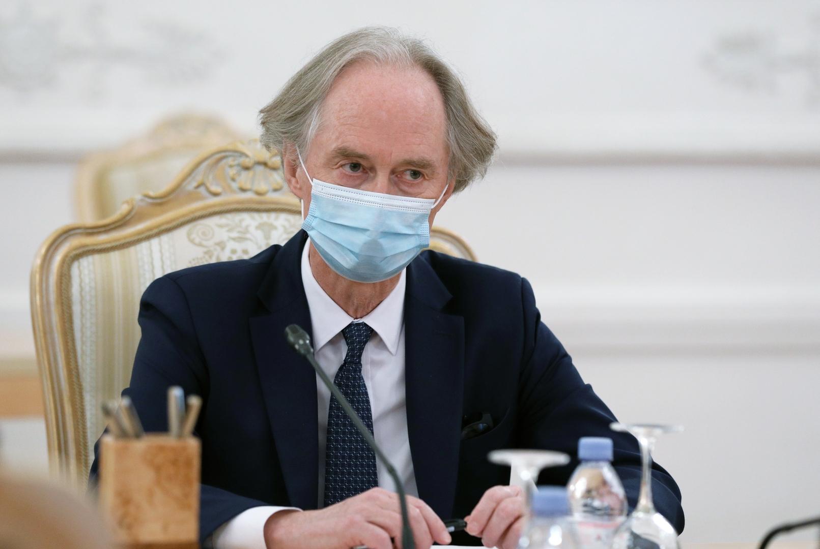 بوغدانوف وبيدرسن يبحثان عمل اللجنة الدستورية السورية