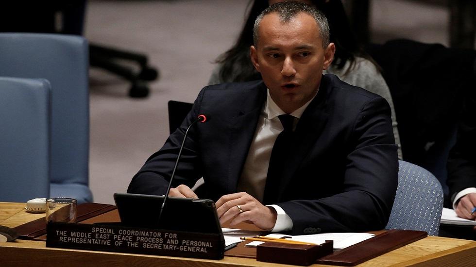 مبعوث الأمم المتحدة إلى الشرق الأوسط يستعد لمغادرة منصبه