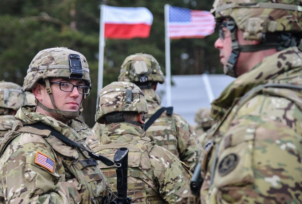الفيلق الخامس الأمريكي يباشر عمله في بولندا