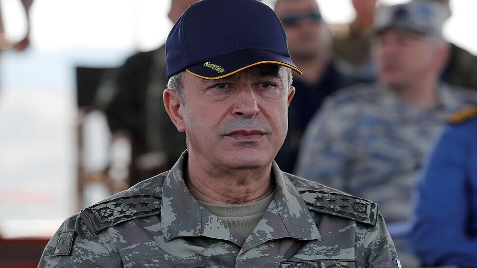 أكار: القوات البرية التركية استكملت استعداداتها للذهاب إلى أذربيجان