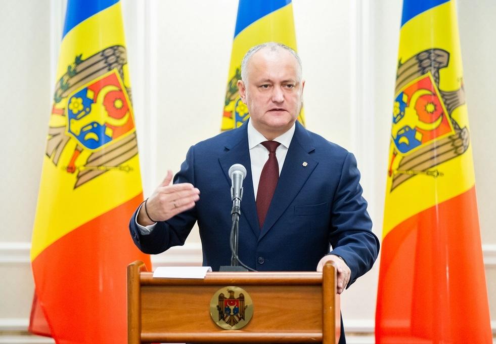 رئيس مولدوفا: حديث ساندو عن انسحاب قوات حفظ السلام الروسية خطأ