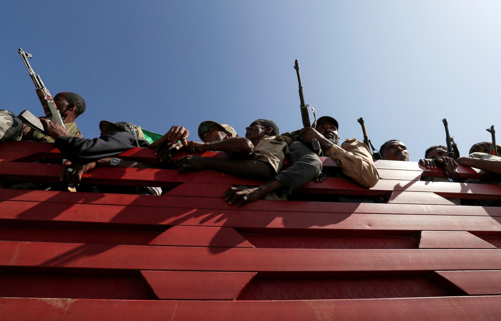 حكومة إثيوبيا تعلن استعادة قواتها مدينة أخرى في تيغراي ومواصلتها التقدم نحو عاصمة الإقليم